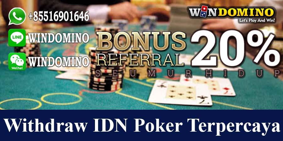 Withdraw Idn Poker Terpercaya 10rb Via Bank Cimb Niaga 24jam